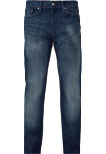 Calça Jeans Levis 513 Boot Cut Slim Straight Fit Azul
