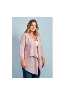 Casaco Mousse Feminino Plus Size Ref.51996