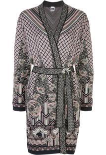 M Missoni Cardigan Kimono - Preto