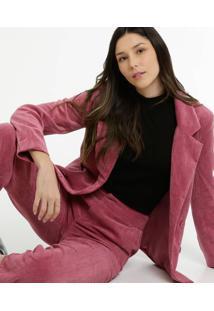 Blazer Feminino Alongado Cotelê Marisa