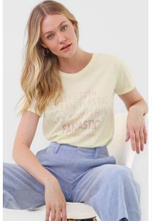 Camiseta Lez A Lez Fantastic Amarela - Amarelo - Feminino - Poliã©Ster - Dafiti