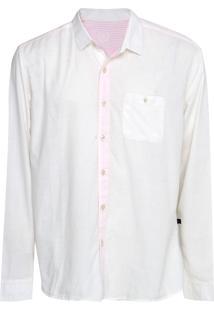 Camisa Forum Smooth Bege