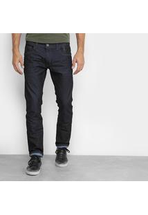 Calça Jeans Slim Ellus 2Nd Floor Fit Super Escura Índigo Masculina - Masculino