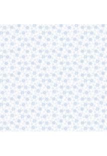 Papel De Parede Lyam Decor Florzinha Azul