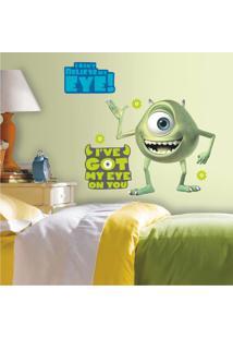 Adesivo De Parede Mike Monstros S.A Room Mates - Verde - Dafiti