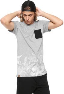 Camiseta Rusty Bivolt Cinza