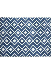 Tapete Dhurie Moroccan 8 Blue/White