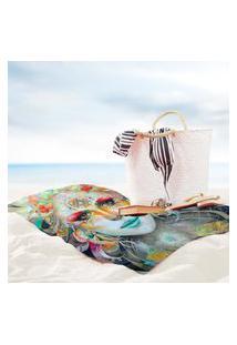 Toalha De Praia / Banho Gaia Color Único