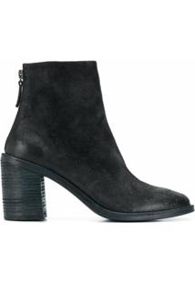 Marsèll Ankle Boot Com Salto 80Mm - Azul