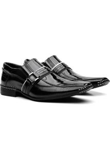 Sapato Social Couro Vr Verniz Masculino - Masculino