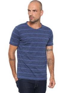 Camiseta Aramis Textura Azul