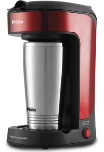 Cafeteira Single Thermo Inox Red Philco 127V Pcf21