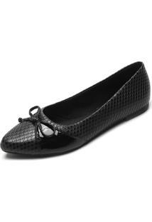 Sapatilha Dafiti Shoes Cobra Preta