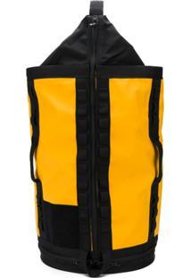 The North Face Mochila Com Estampa De Logo - Amarelo