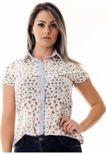 Camisa Pimenta Rosada Léna Cashmere - Feminino