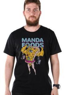 Camiseta Bandup! Bdp Clothing Manda Foods Masculina - Masculino