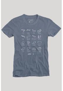 Camiseta Reserva Circuitos Masculina - Masculino-Marinho