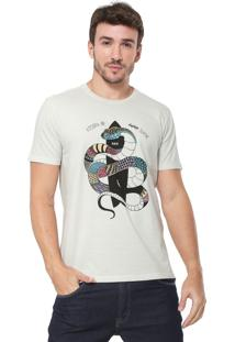 Camiseta Reserva Snake Bege