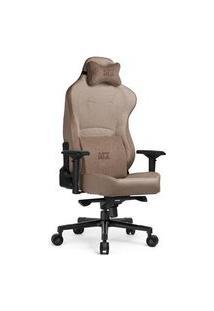 Cadeira Gamer Dt3Sports Royce Sand, Suporta Até 180Kg, Com Sistema Frog, Braço 4D, Inclinação E Almofadas, Areia - 12387-1