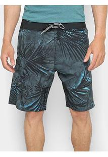 Bermuda Volcom Cos Toner - Masculina - Masculino-Verde Escuro