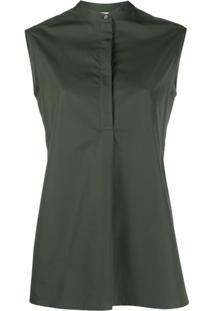 Aspesi Blusa Sem Manga - Verde