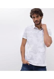 Camisa Polo Camuflada