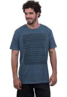 Camiseta Limits Laundry Local Masculina - Masculino-Marinho