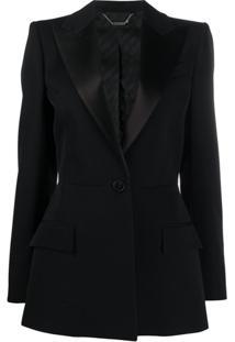 Givenchy Single-Button Wool Blazer - Preto
