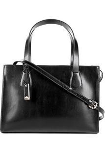 Bolsa Capodarte Handbag Feminina - Feminino-Preto