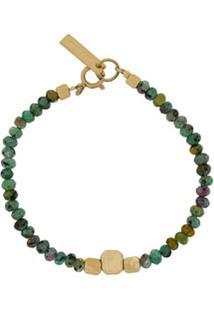 Isabel Marant Bracelete Babal Com Aplicação De Pedra - Verde
