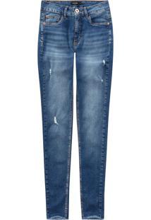 Calça Jeans Push Up Cropped Malwee