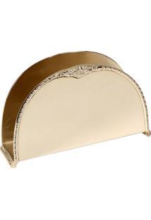 Porta-Guardanapo De Prata Decorativo Gaston