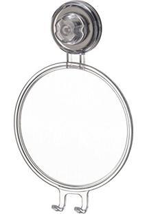 Espelho Antiembaçante Fixar Na Parede Com Ventosa - Incolor