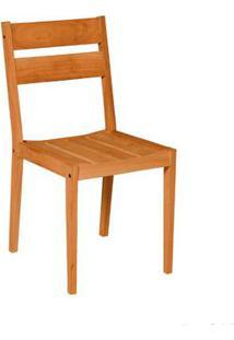 Cadeira De Madeira Fixa Verona Stain Jatobá Butzke