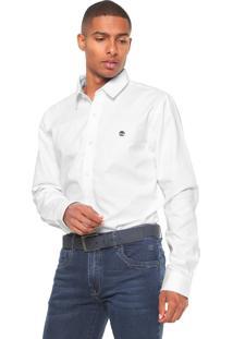 Camisa Timberland Oxford Slim Branca