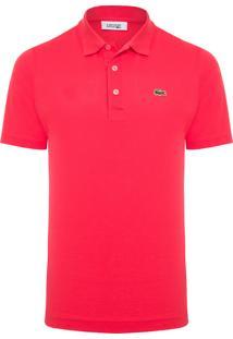 Polo Masculina Sport Tênis Regular Fit - Vermelho