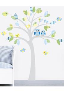 Adesivo Decorativo Stixx Candy Tree Menino Azul