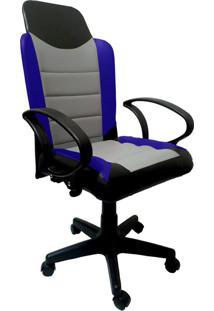 Cadeira Gamer New Azul
