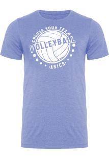 Camiseta Masculina Indoor Volley - Azul