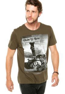 Camiseta Sommer Follow Your Verde
