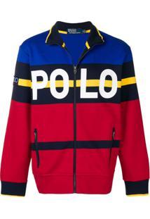 Polo Ralph Lauren Suéter Com Logo - Vermelho