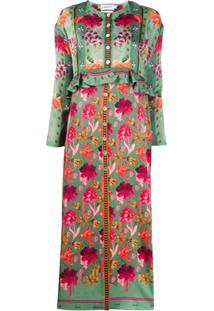 Liberty London Vestido Tigerlilly Floral - Verde