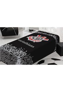 Cobertor Solteiro Tradicional - Corithians Jolitex