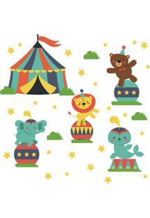 Adesivo Parede Quarto Infantil Circo