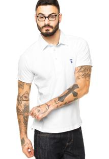 Camisa Polo Sergio K Detalhe Branca