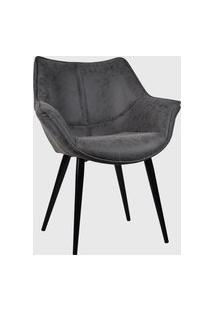 Cadeira Cecilia Preto Vintage Rivatti