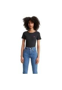Camiseta Levis Honey Short Sleeve Preto