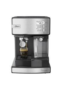 Cafeteira Espresso Oster Nova Primalatte Inox 220V