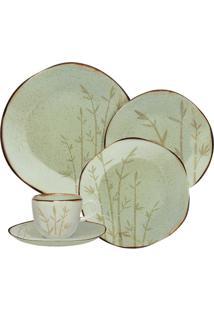 Aparelho De Jantar E Chá 20 Peças Ryo Bambu