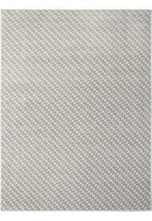 Tapete Classe A Retangular Polipropileno 150X200 Cm Cinza